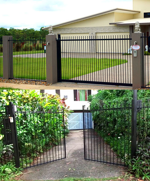 Automatic gates for Darwin and Palmerston - Sliding and Swing - Dunwrights Air & Electrical