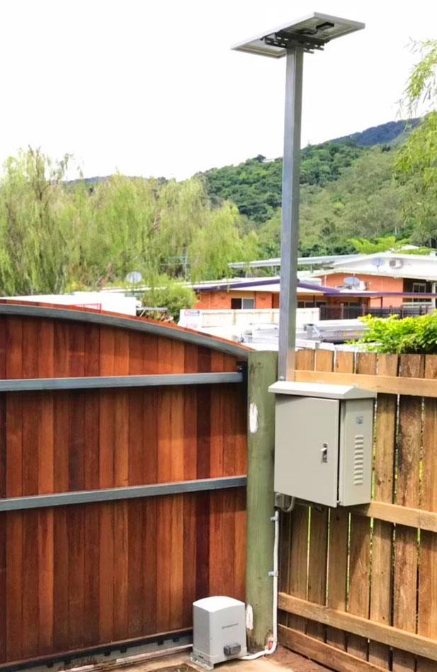 Solar automatic gate motors for Darwin